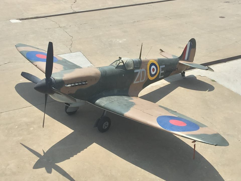Battle of Britain Spitfire Headed to Austrailia for