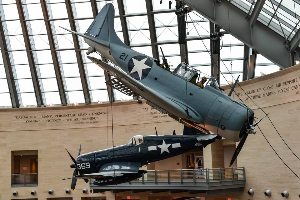 New SBD For USMC Museum – The Warbird Watcher